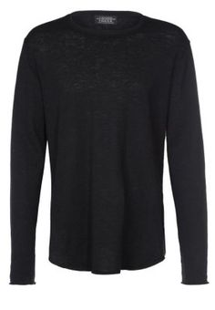 FRONT - Jumper - black Jumper, Sweaters, Shoes, Black, Fashion, Moda, Zapatos, Shoes Outlet, Black People
