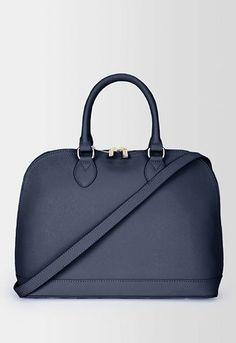 Danier Official Store, Lexington saffiano leather large dome bag, navy,  Handbags.  99 DROOOOOOOOOOOOOL 778e505a35