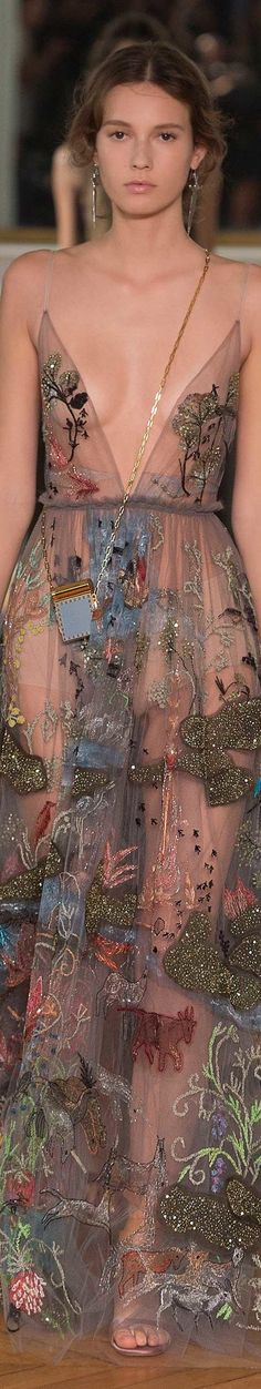 Valentino SS 2017 RTW valentino.com.....NOW THAT'S SHEER...............ccp