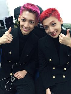 Youngmin and Kwangmin of BOYFRIEND
