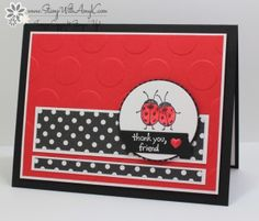 Stampin' Up! Love You Lots Ladybugs – Stamp With Amy K