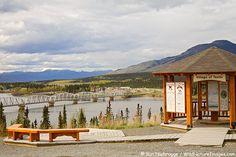 Teslin Village, Alaska Highway, Yukon Territory, Canada by Ron Niebrugge