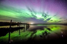 10 Breathtaking Photos Of The Northern Lights, Taken On A Scottish Island