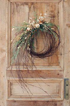 35 szépséges bejárati ajtódísz | PaGi Decoplage