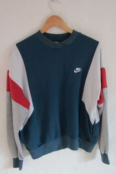 nike crewneck- id prob wear this around the house on cozy days