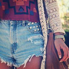 Love High Waisted Shorts!