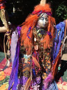 Spirit Doll Baba Yaga doll FREE SHIPPING Crone by MyIrishGypsy