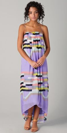 The Tibi Arizona Long Dress... Tibi is my all time favorite dress designer, and the new 2012 summer line does not disappoint.
