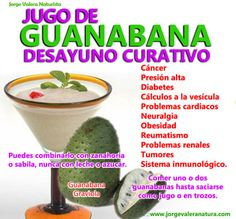 PLANTAS MEDICINALES Guanabana