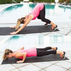 This power push-up really wakes up the body making it ideal for morning workouts.