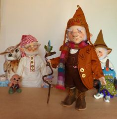 "Finkle ""Fall"" Fudnock The Gnome from Pip's Poppies"