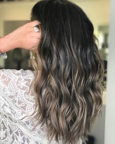 "161 Likes, 14 Comments - A Georgia Balayage Specialist (@hairby_btaylor) on Instagram: ""Cool brunette + piecey bronde babylights ✨. . . . . . . . . . . . . . . . #behindthechair…"""