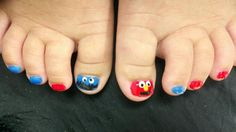 Cookie Monster & Elmo - if only Rowan would sit still for this!!!!!!!!!!!!