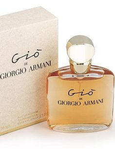 Gio Giorgio Armani perfume - una fragancia para Mujeres 1992