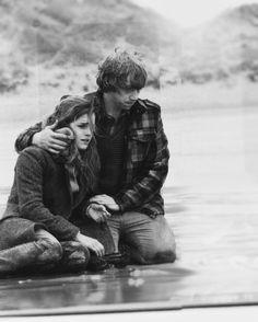 Hermione e Rony.