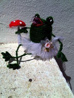 doll Maskottchen Frog by olga, $9.00 USD
