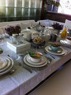 Mesa para un desayuno