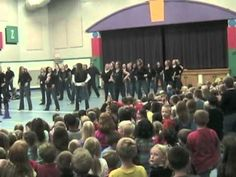 PME Flash Mob--video from my son's elementary school, during a homecoming activity