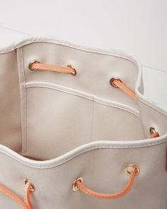 MANSUR GAVRIEL | Canvas Bucket Bag | Shop at La Garçonne