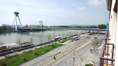 A view of the #MostSNP in #Bratislava. Most SNP is a #bridge that was built in 1972 which takes vehicles bicycles and pedestrians over the #River #Danube on two levels. It is the longest single pylon cable stayed bridge in the world. The UFO:Bar and observation deck above it give impressive views over Bratislava. #fact #slovakia #igersslovakia #igersbratislava #history #culture #education #travel #tourism #tourist #leisure #life #architecture #scifi #ufo #explore #adventure