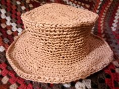 My very first straw hat. I just finished it and I'm very pleased with it but it's too small for me. Does anyone out there with a normal sized head want it? Going free to a good home!  Gone! Glad u like it TT