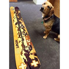 We teamed up with the National Ski Patrol in an effort to show respect for all ski patrollers and rescue dogs risking their lives for the benefit of others. Get yours today at www.skilogik.com/skis/skisforacause
