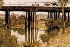 Great Australian painter Tom Roberts at National Gallery of Australia. Lines & Colors: http://linesandcolors.com/2015/12/08/tom-roberts-at-the-national-gallery-of-australia/