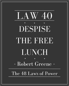 the 40 laws of power