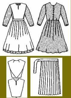 amish bonnet pattern - Pesquisa Google