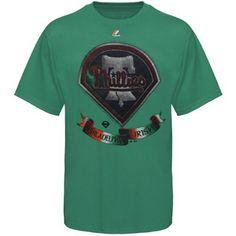 Philadelphia Phillies St. Patrick s Day Shamrock Fields T-Shirt Kelly  Green eb5ed906c