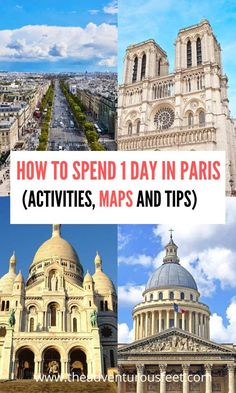 The perfect Paris one day itinerary: How to spend 1 day in Paris (+ maps & tips) -