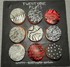 twenty one pilots cupcakes