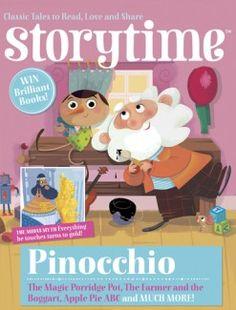 Hello Pinocchio – welcome to Issue 8! With King Midas, The Magic Porridge Pot & more! ~ STORYTIMEMAGAZINE.COM