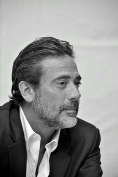 Jeffrey Dean Morgan. I hate you for what you did to Glenn and Abraham.