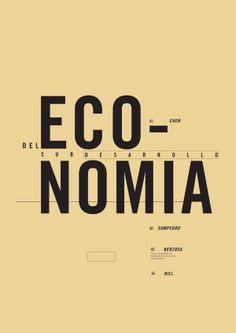 -Tipografía Longinotti 2- http://www.behance.net/gallery/Editorial-Economia/10795061