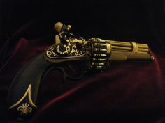 Admiral Nelson's Pepperbox A.K.A Lil' Iron by ReactionDesigns