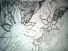 Doodling abstract process...(Part 2)!!!