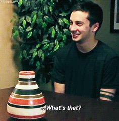 1k Iconic Twenty One Pilots i love this video so much Tyler Joseph Josh Dun gif:tyler gif:21p u can see tyler in the mirror and it makes me m ad gif:josh