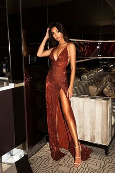ca5aa6bc038b Abyss Encore - Bronze - Perth Dress Hire - My Sisters Boudoir Vintage Chic,  Maxi