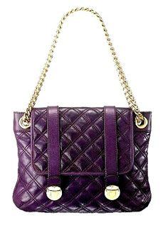 Marc Jacobs Purple Hand Bag.  #colorsofsummer