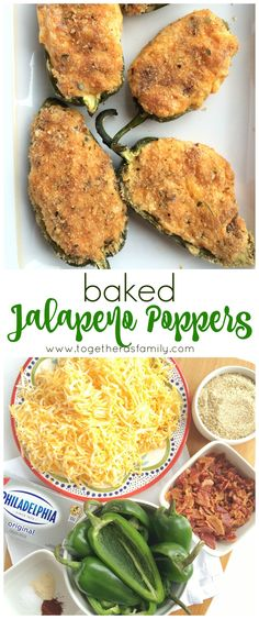 BAKED JALAPENO POPPERS | www.togetherasfamily.com