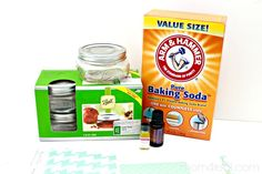 Make Your Own Odor Absorber / Air Freshener