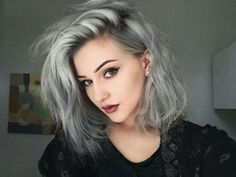 Ombre.... Black to grey ☺ perfect