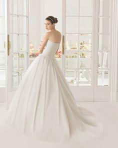 Orlando vestido de novia corte A