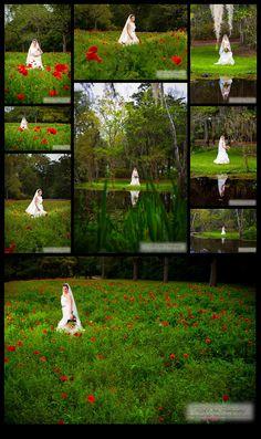 Funderburk Bridal Portrait ©Rick Dean Photography 2013 Boone Hall Plantation