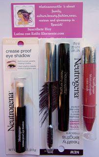 Sorteo de maquillaje neutrogena  un labial , una mascara y una sombra barrita. Hasta el 17 de enero.  No necesitas comprar nada.En   LATINA CON ESTILO ELOCUENTE.com