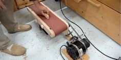 Why Buy a Belt Sander When You Can Build Your Own?