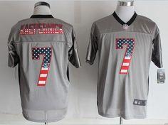 1d8f4f7e3a6 San Francisco 7 Kaepernick USA Flag Fashion Grey Shadow 2014 New Nike Elite  Jerseyscheap nfl jerseys