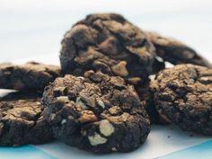"""Chocolate Fudge Chip Cookies (Habitat Build) - Trisha Yearwood, """"Trisha's Southern Kitchen"""" on the Food Network."""