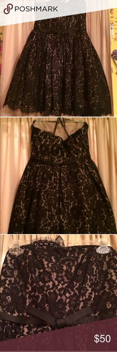 NWT Robert Rodriguez party dress NWT party dress has built in bra with boning for a comfortable and secure fit. Lace detail dress has a double lining with an added layer of chiffon that supports the skirt of the dress creating a consistently perfect shape. Robert Rodriguez Dresses Strapless